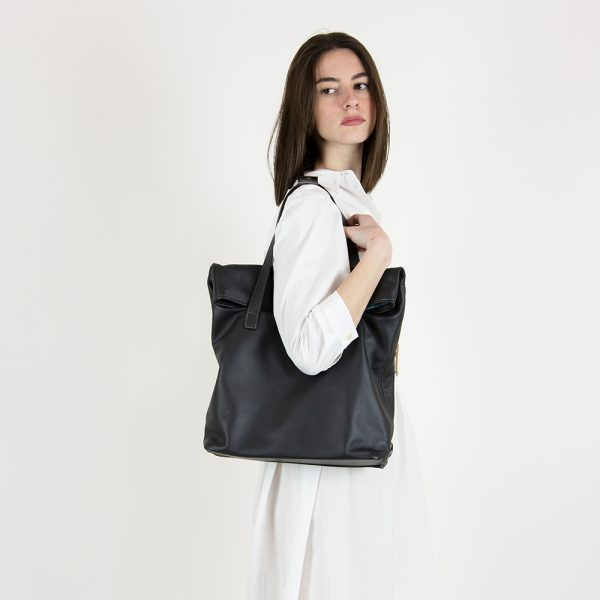 leather tote two